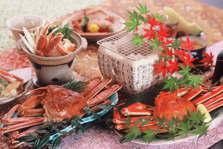 Kanizukushi Kaiseki Menus (Crab Feast)
