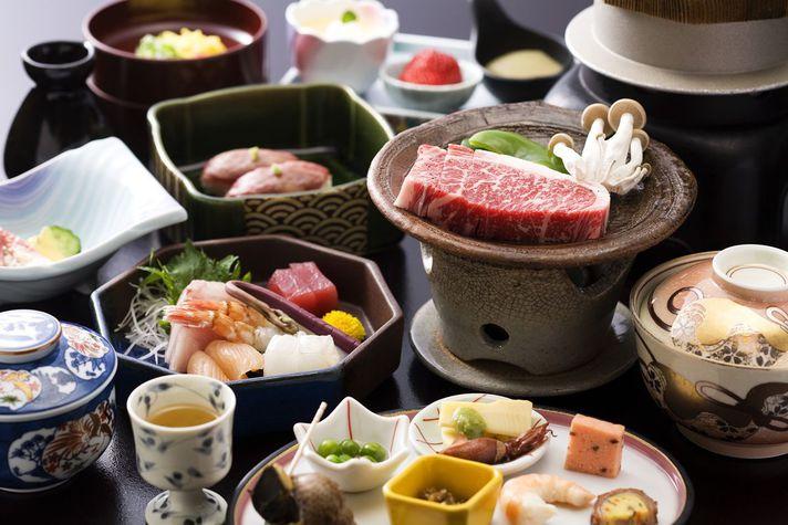 Shimane Wagyu beef feast Menu
